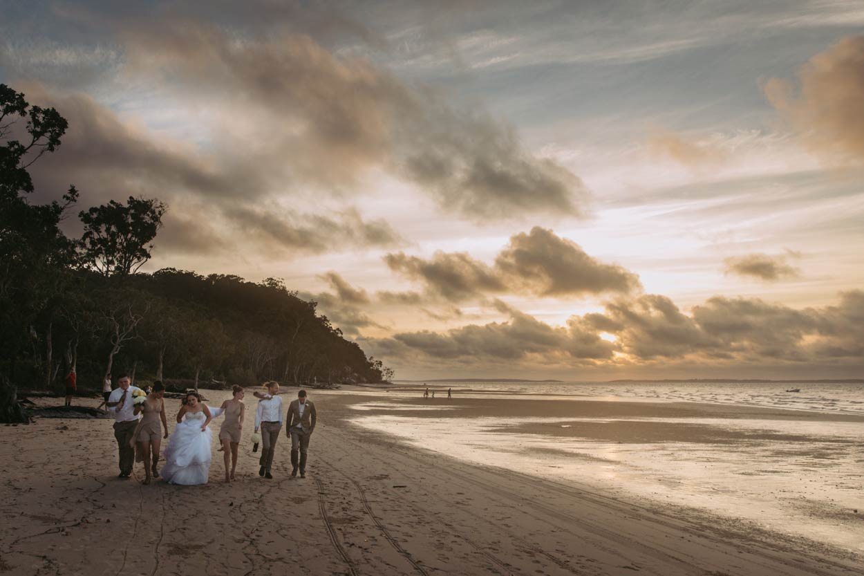 Sunset Beach, Fraser Island, Sunshine Coast - Brisbane, Queensland, Australian Portrait Photographers