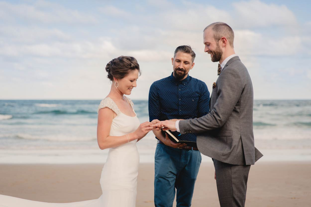 Noosa Grove Beach, Sunshine Coast Destination Wedding Photographers - Brisbane, Queensland, Australian
