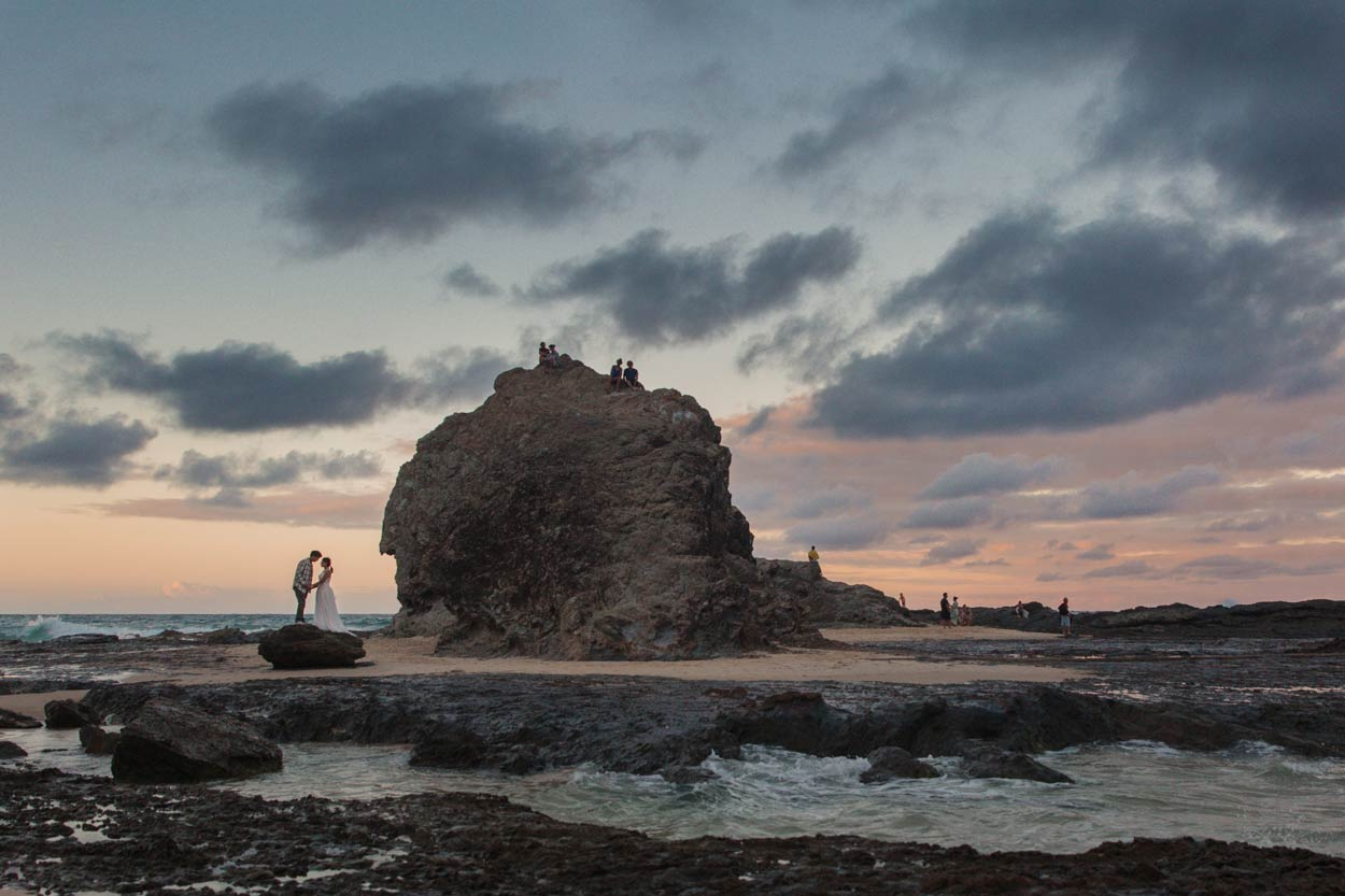 Currumbin, Elephant Rock Destination Wedding Photographers - Brisbane, Gold Coast, Australian