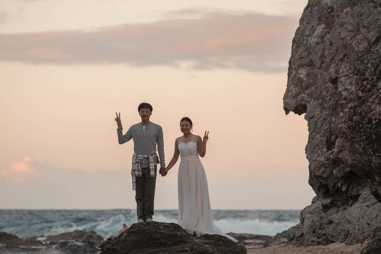 Currumbin, Elephant Rock Destination Wedding Photographers - Sunshine, Gold Coast, Australian