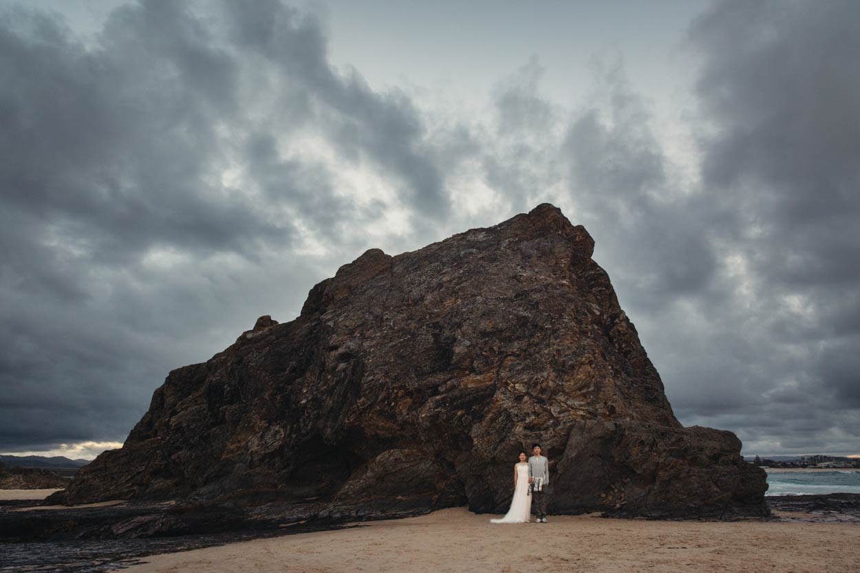 Elephant Rock, Currumbin Gold Wedding Photographers - Brisbane, Sunshine Coast, Australian Destination