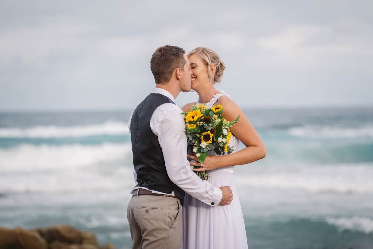 Yaroomba Beach Destination Wedding Photographers - Brisbane, Gold Coast, Australian Eco Packages
