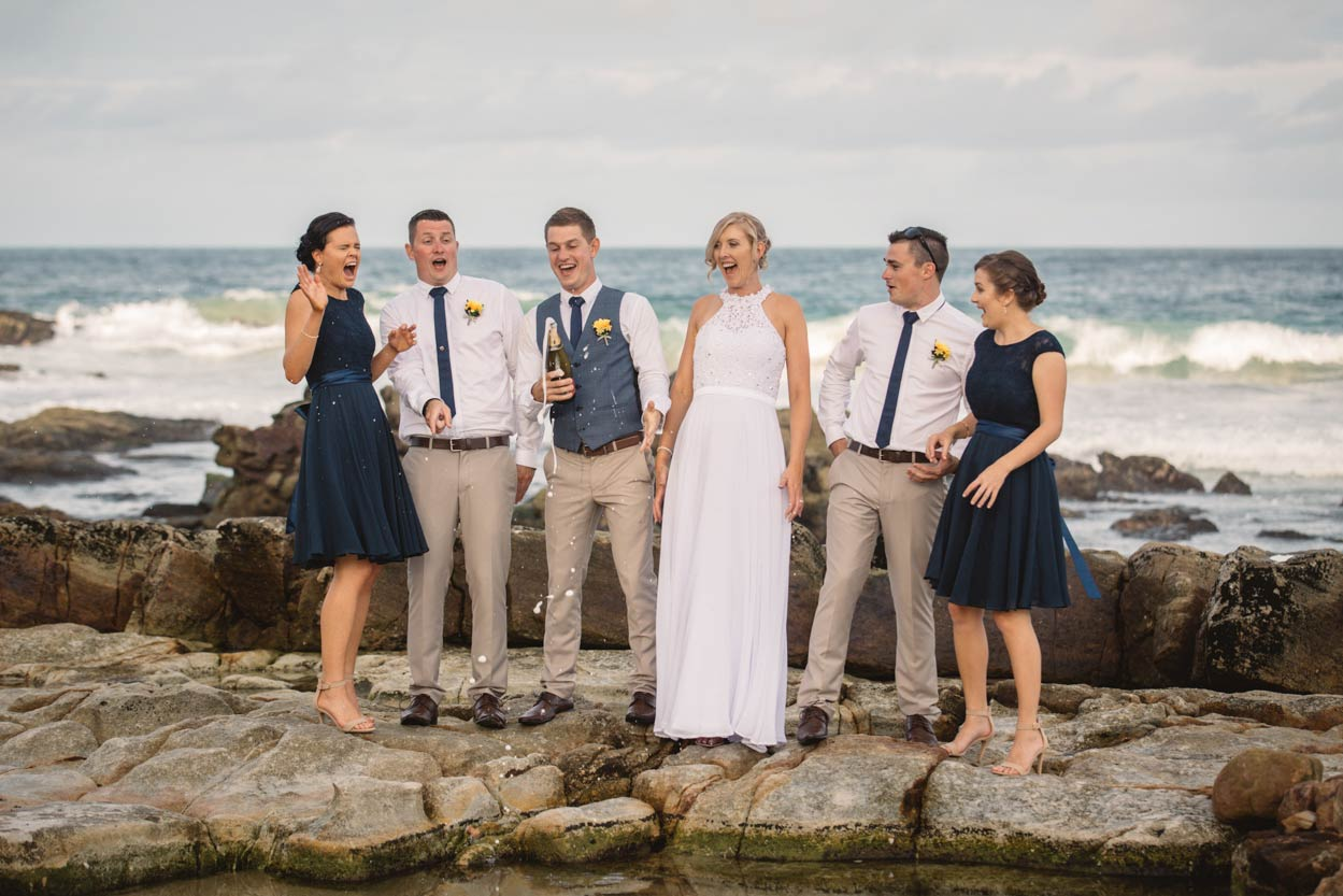 Marcoola Beach Destination Wedding Blog - Brisbane, Sunshine Coast, Australian Elopement Photographers