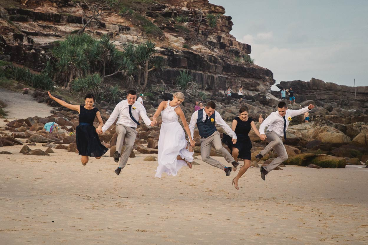 Fine Art Point Arkwright Destination Wedding Photographer, Noosa - Sunshine Coast, Brisbane, Australian