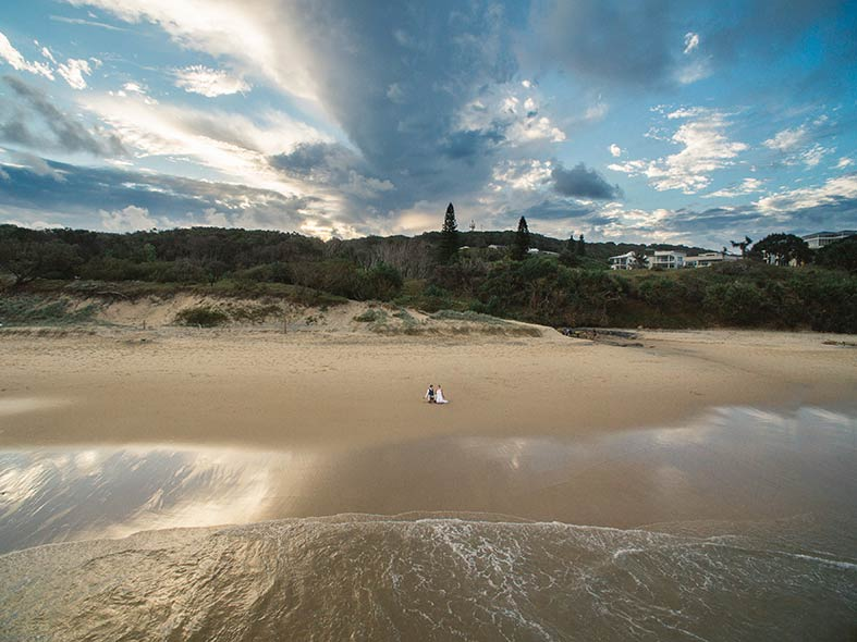 Fine Art Noosa Beach Destination Wedding Photographers - Brisbane, Sunshine Coast, Australian