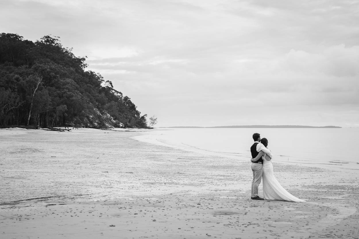 Eco Kingfisher Bay, Fraser Island Destination Wedding Photos - Brisbane, Sunshine Coast, Australian Photographer