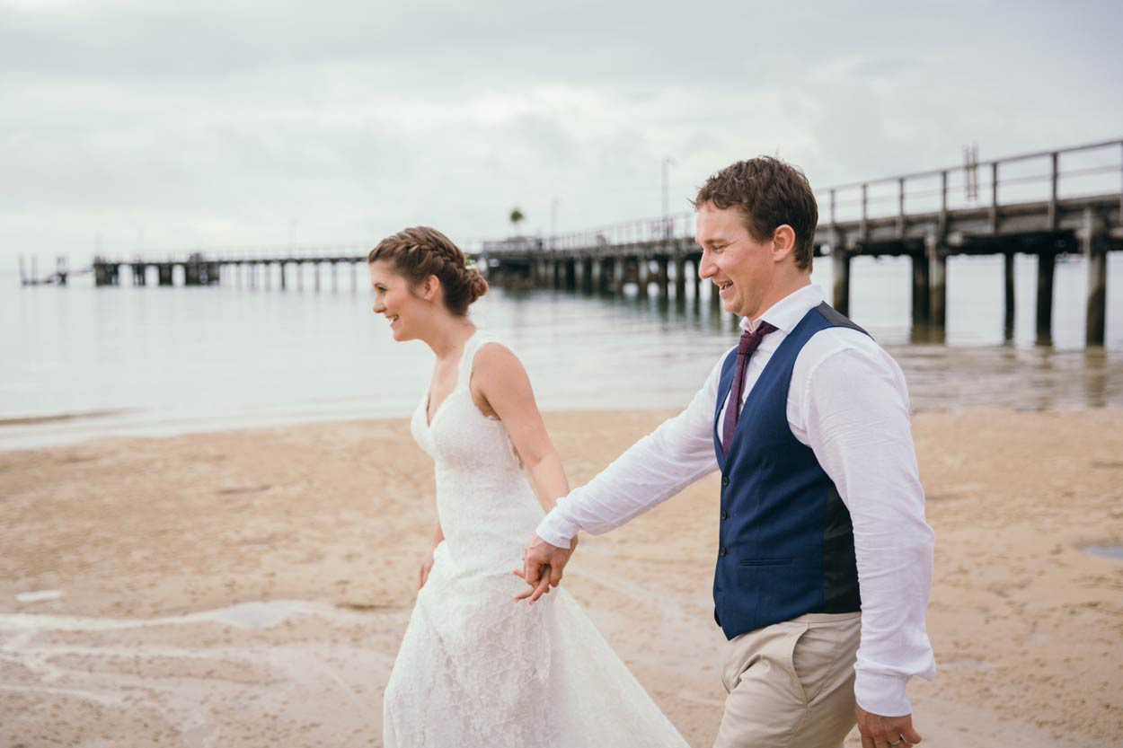 Kingfisher Bay, Fraser Island Pre Destination Wedding Photographers - Brisbane, Sunshine Coast, Australian