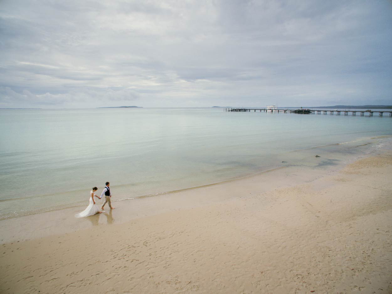 Creative Kingfisher Bay Resort Destination Wedding Photographers - Brisbane, Sunshine Coast, Australian