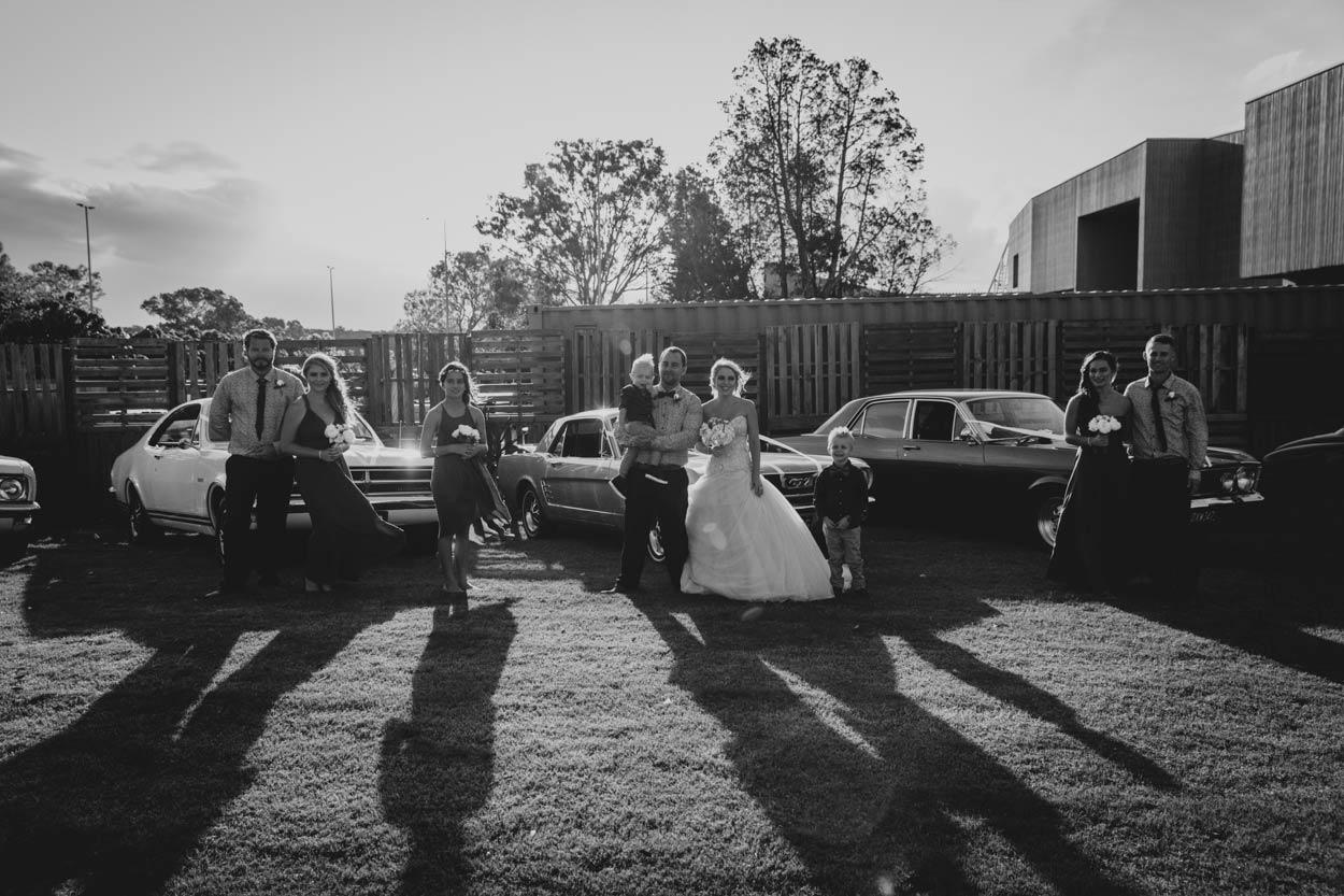 Boho Maleny Destination Wedding Photographer - Sunshine Coast, Brisbane, Australian Vintage Cars