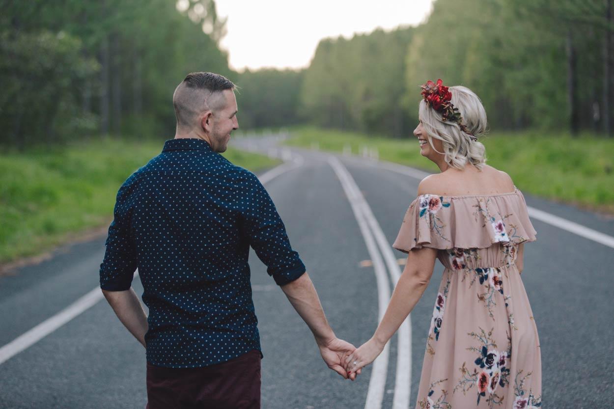 Top Montville Pre Destination Wedding Engagement Photographer - Sunshine Coast, Brisbane, Australian