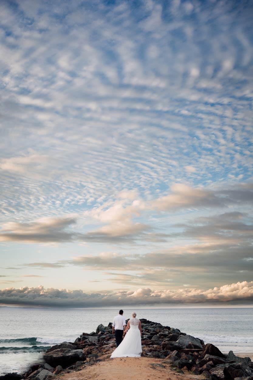 Stunning Brisbane, Australian Destination Wedding Photographer - Noosa Main Beach, Sunshine Coast
