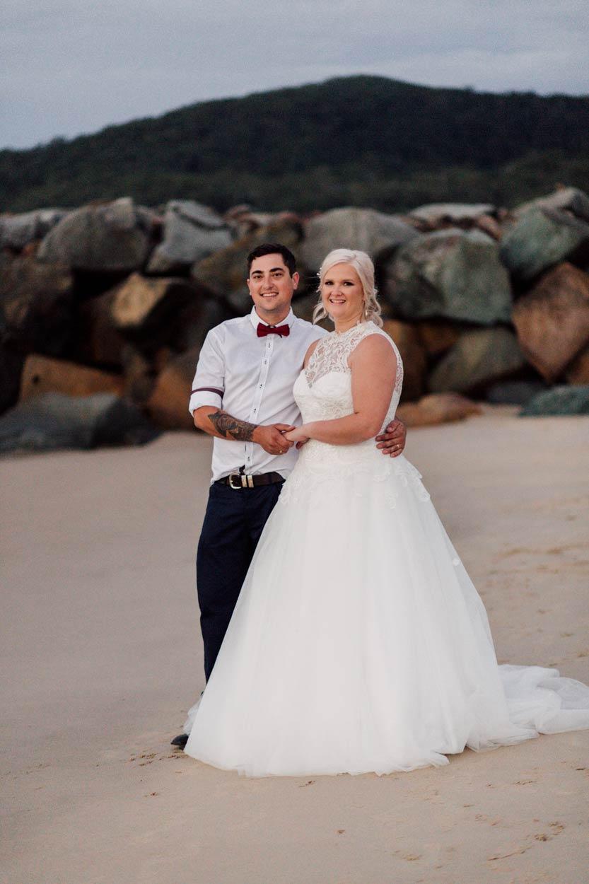 Chic Brisbane, Australian Destination Wedding Photographer - Noosa Main Beach, Sunshine Coast, Queensland
