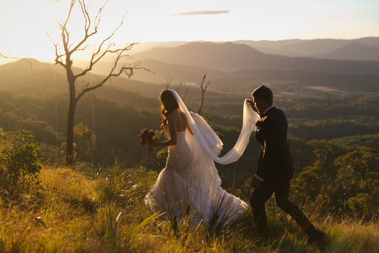Modern Maleny Destination Wedding Photographers - Sunshine Coast, Brisbane, Australian Photos