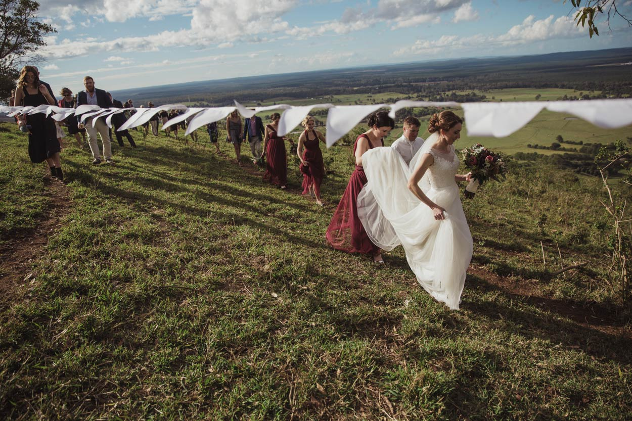 Magic Maleny Destination Wedding Photographer Dress Photos - Brisbane, Sunshine Coast, Australian