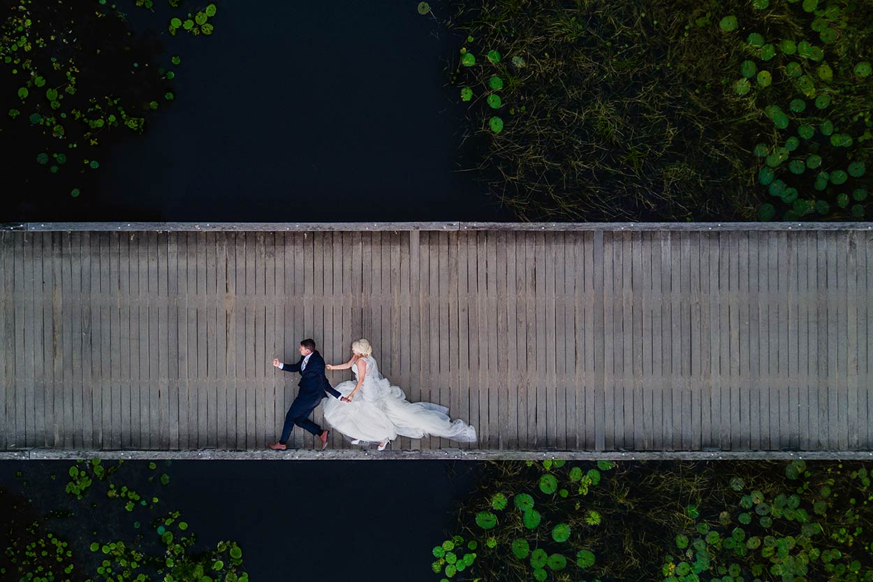 Caloundra Drone Destination Wedding Photographer, Queensland - Brisbane, Sunshine Coast, Australian