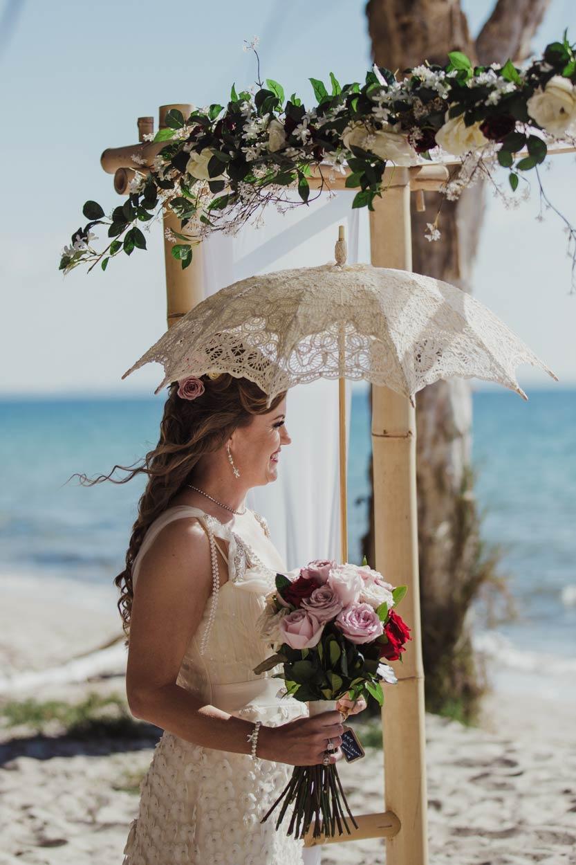 Natural Noosa Main Beach Destination Wedding - Sunshine Coast, Brisbane, Australian Elopement Photographer
