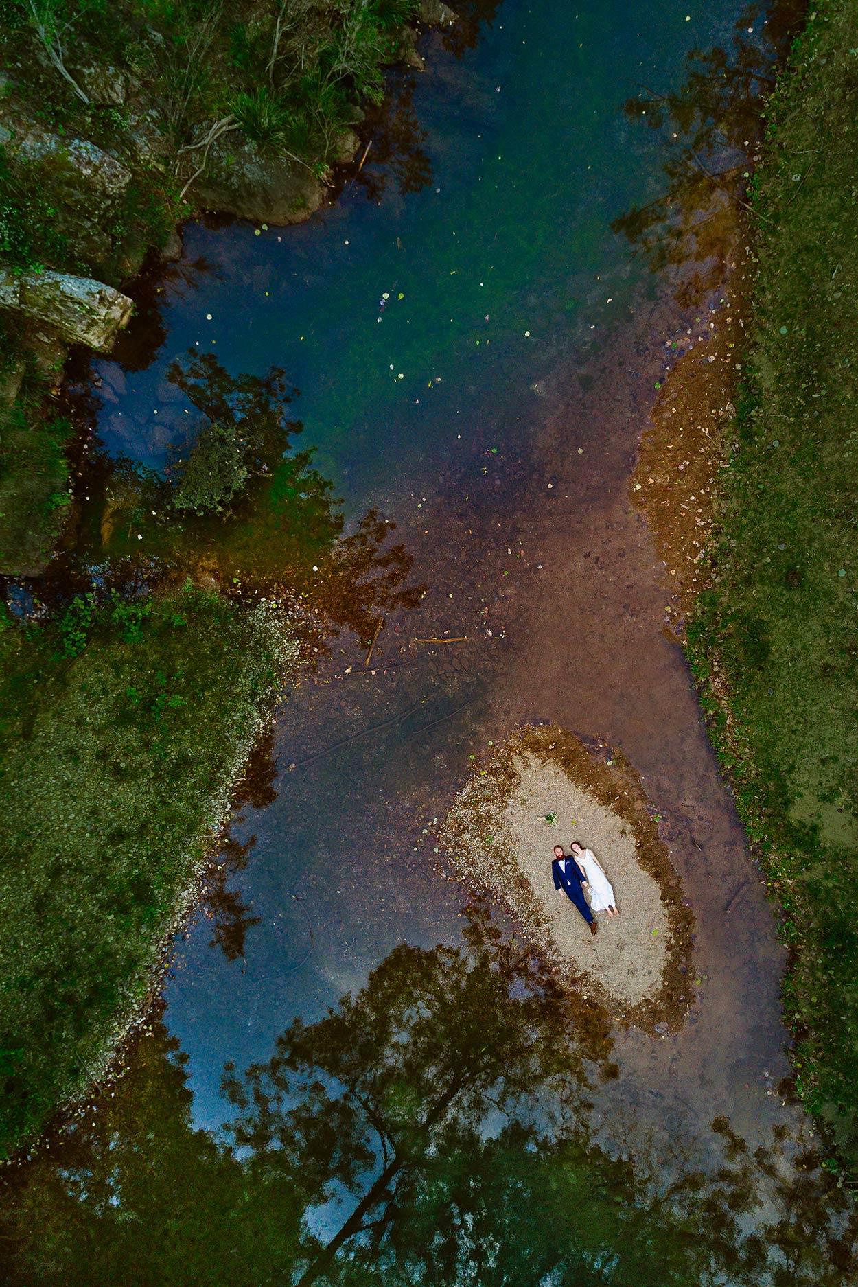 Noosa, Sunshine Coast Destination Wedding Drone Photographers - Brisbane, Queensland, Australian