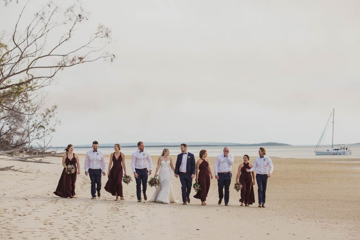 Top Photojournalistic Fraser Island Destination Wedding - Sunshine Coast, Brisbane, Australian Photographer