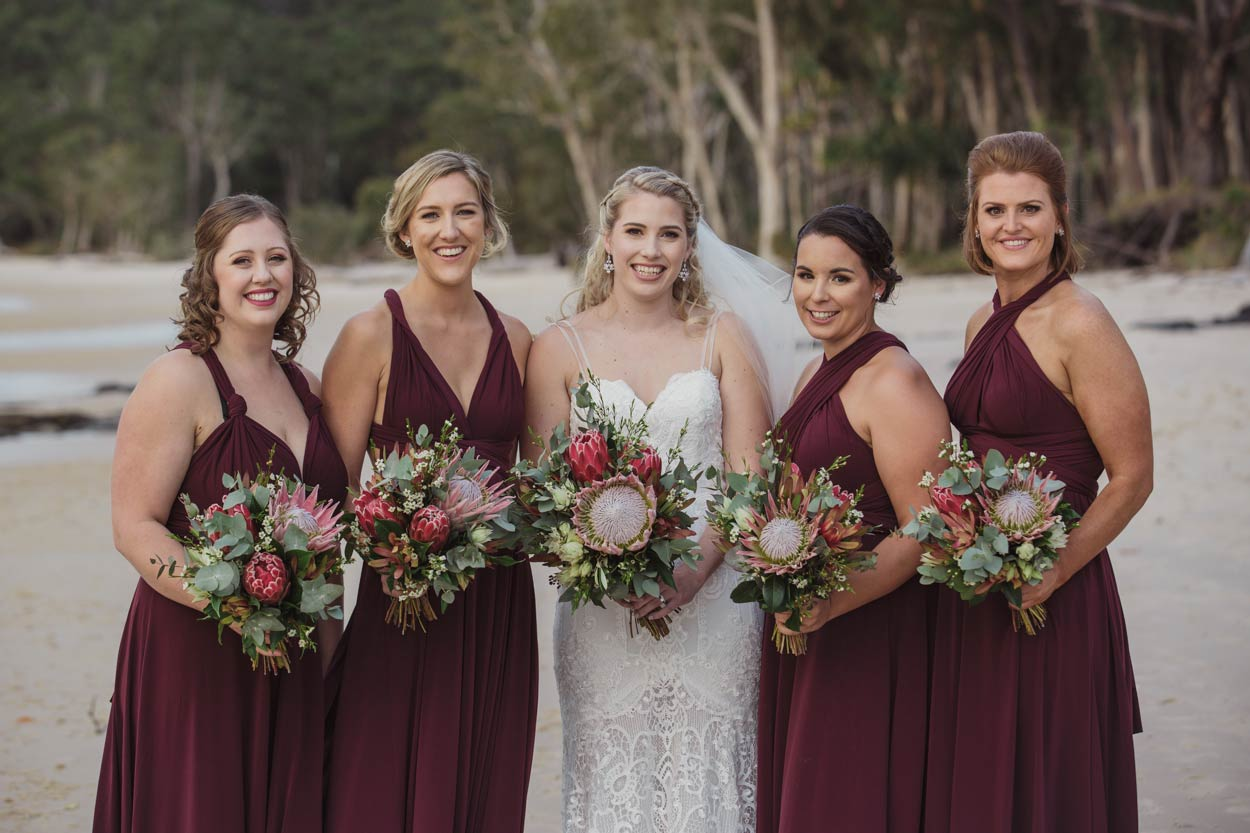 Noosa Beach Candid Moments Wedding Photographer - Brisbane, Sunshine Coast, Australian Destination
