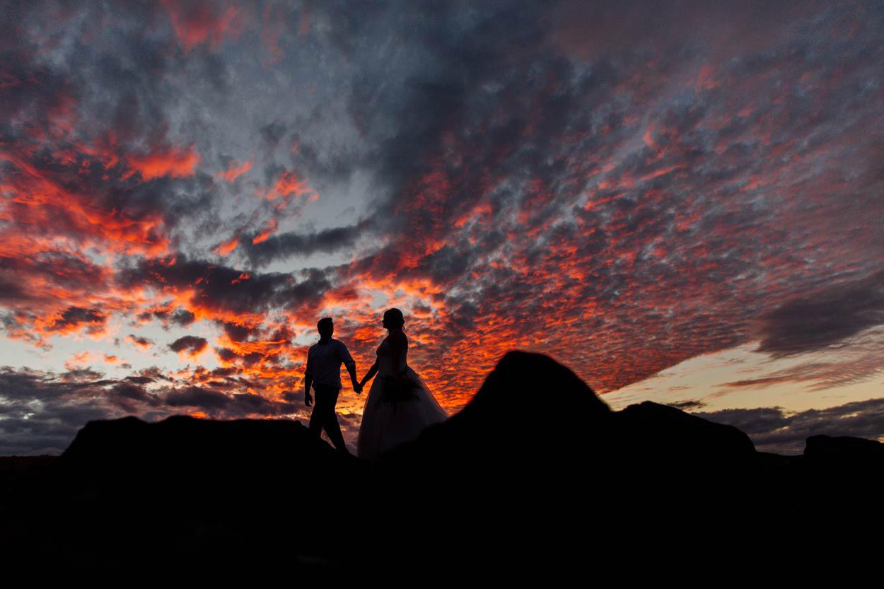Luxury Noosa Beach Drone Destination Wedding - Sunshine Coast, Brisbane, Australian Elopement Photographers