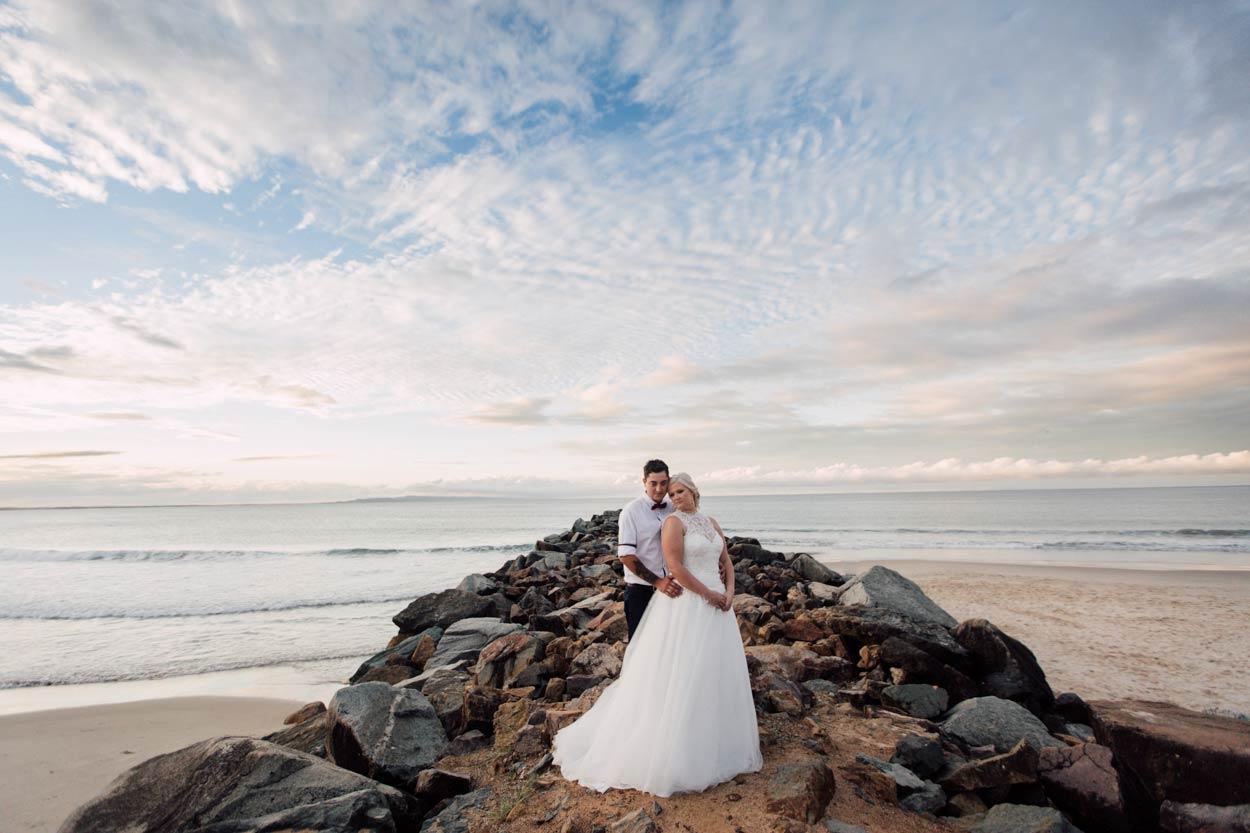 Fearless Noosa Heads Drone Destination Wedding, Queensland - Brisbane, Sunshine Coast, Australian Photographer