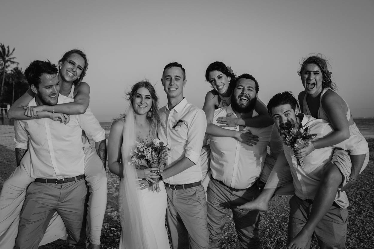 Noosa Boho Rustic Wedding Bouquet Photographers - Brisbane, Sunshine Coast, Australian Destination