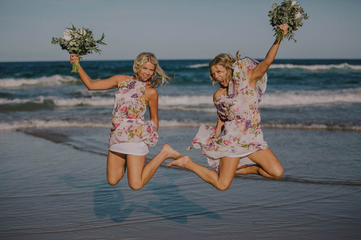 Noosa Heads Beach Destination Wedding Photographer - Sunshine Coast, Queensland, Australian Drone