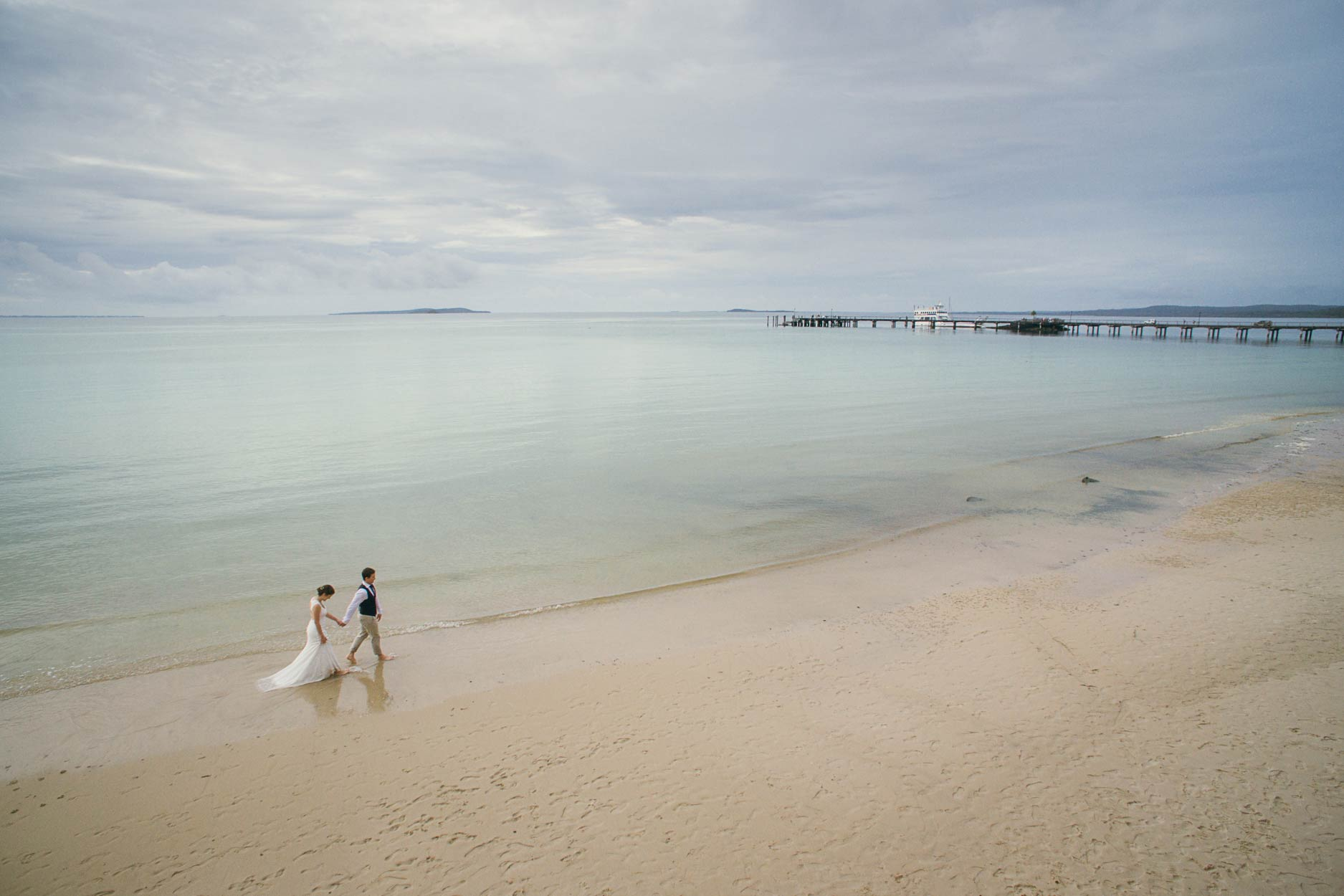 Marcoola & Noosa Pre Destination Wedding Photographers - Sunshine Coast, Queensland, Australian Drone