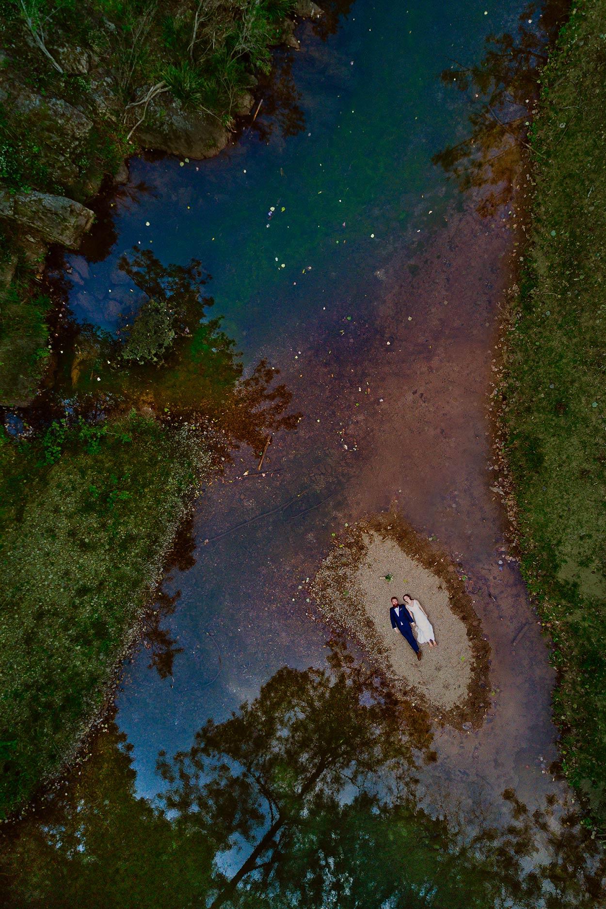 Noosa & Maleny Drone Destination Wedding Photographer - Top Sunshine Coast, Queensland, Australian