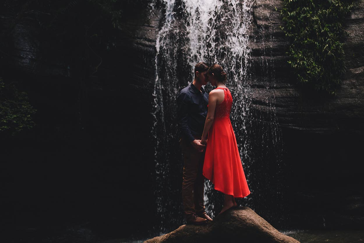 Noosa & Buderim Waterfall Destination Wedding Photos - Sunshine Coast, Queensland, Australian Blog Pics