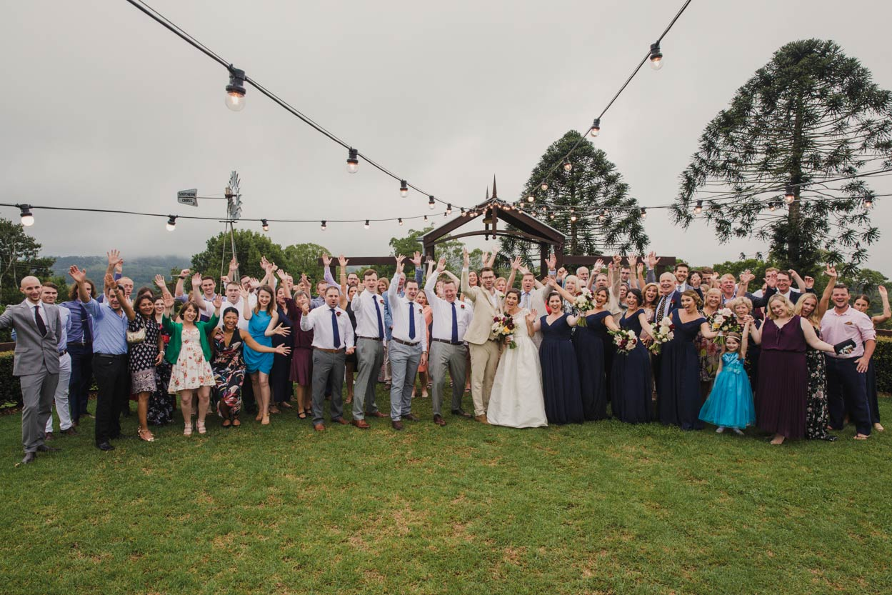 Happy Flaxton Gardens, Destination Wedding Photographers - Sunshine Coast, Queensland, Australian