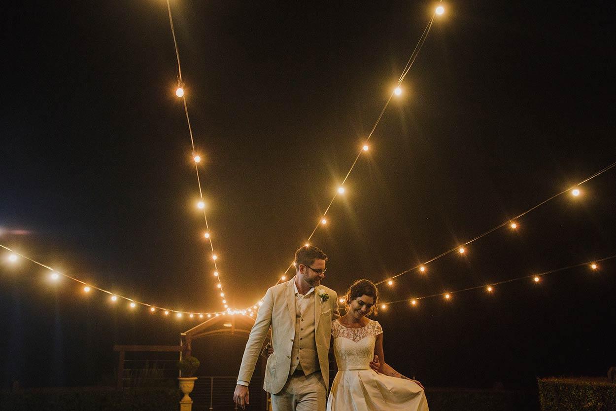 Top Flaxton Gardens Wedding Night Photographer - Sunshine Coast, Queensland, Australian Destination Blog