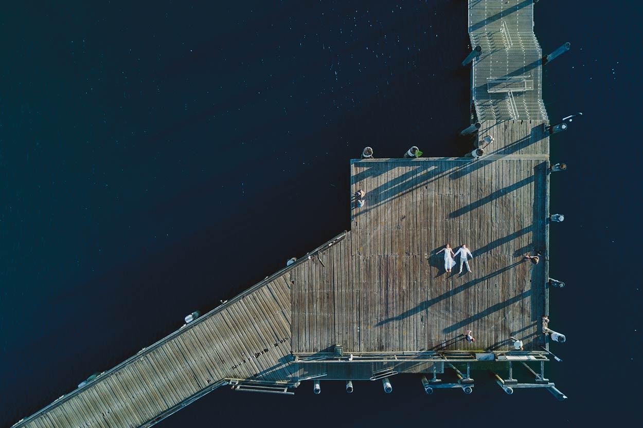 Caloundra to Noosa Beach Wedding - Sunshine Coast, Queensland, Australian Destination Drone Photographer