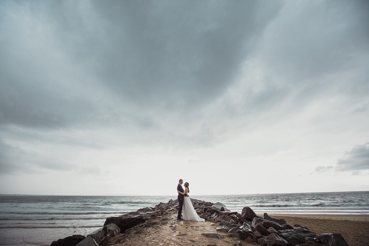 Noosa River Drone Destination Wedding Photographers, Sunshine Coast - Queensland, Australian Engagement Blog