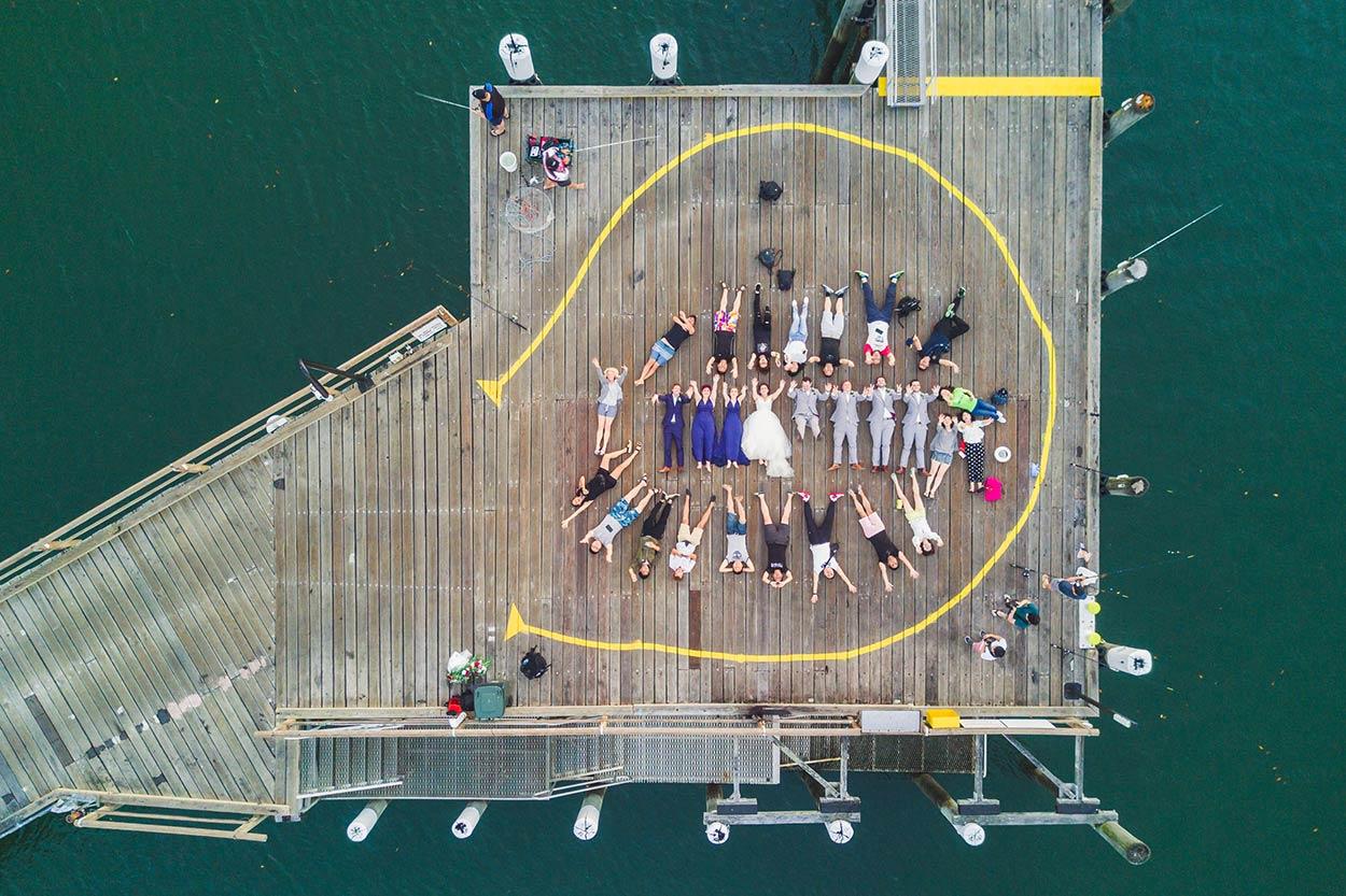 Fraser Island Eco Drone Wedding Destination Photographer Blog Pics - Sunshine Coast, Queensland, Australian