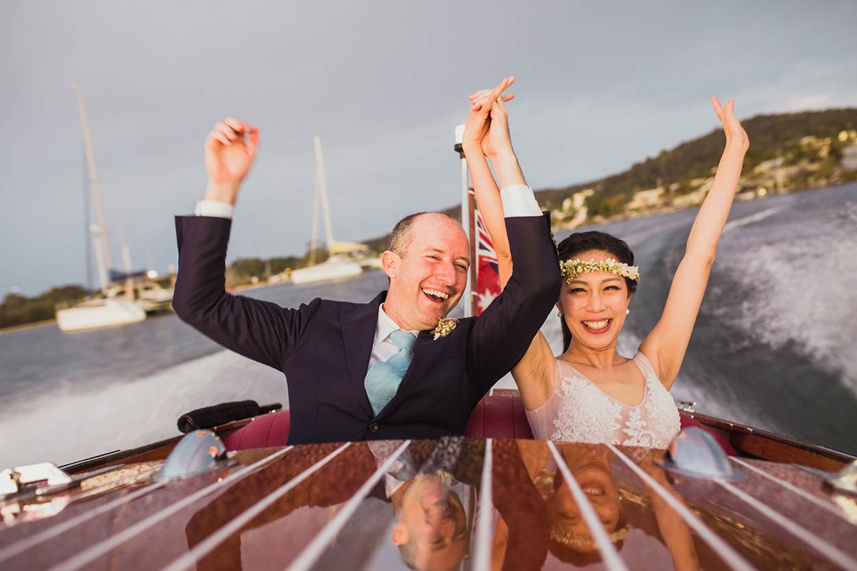 Best Noosa Dream Boat Destination Wedding Photographers - Sunshine Coast, Queensland, Australian Venue Rickys