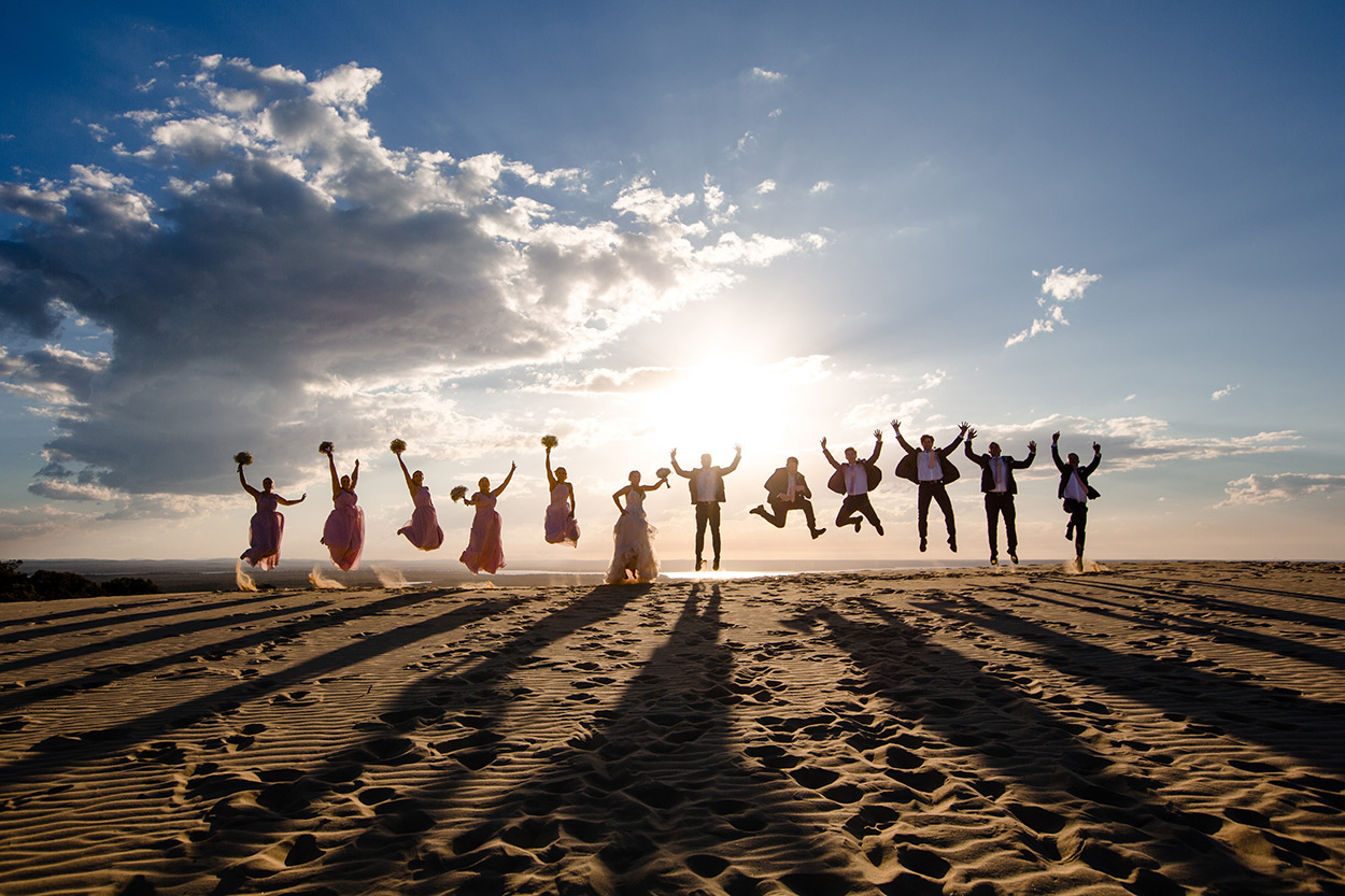 Best Rainbow Beach Drone Destination Wedding Photographer, Sunshine Coast - Noosa, Queensland, Australian Blog