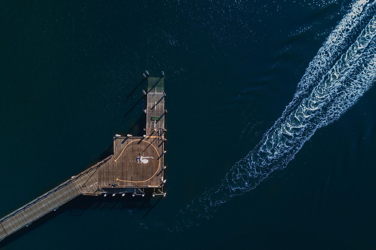 Byron Bay & Bangalow Pre Destination Wedding - Gold, Sunshine Coast, Australian Top Drone Photographers