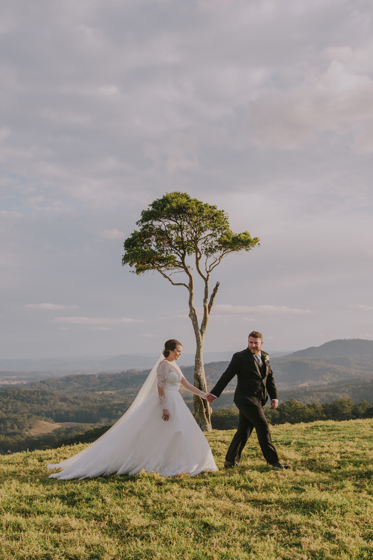 Maleny One Tree Hill Moments Wedding Photographer - Sunshine Coast, Queensland, Australian Destination Elopement