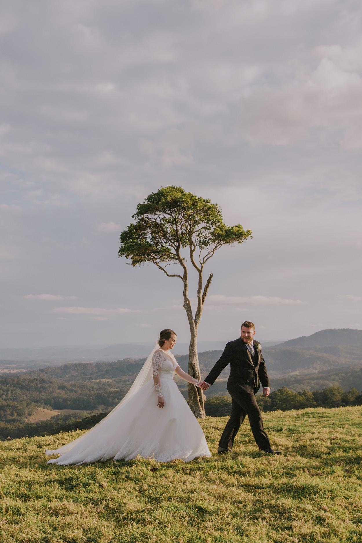 Maleny One Tree Hill Moments Wedding Photographer - Sunshine Coast, Queensland, Australian Destination Elopement