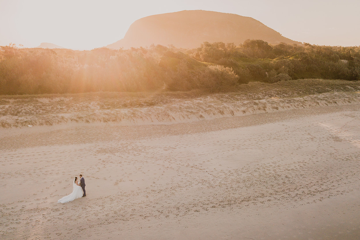 Top Surfair, Marcoola and Coolum Drone Destination Wedding Photographer, Sunshine Coast - Queensland, Australian