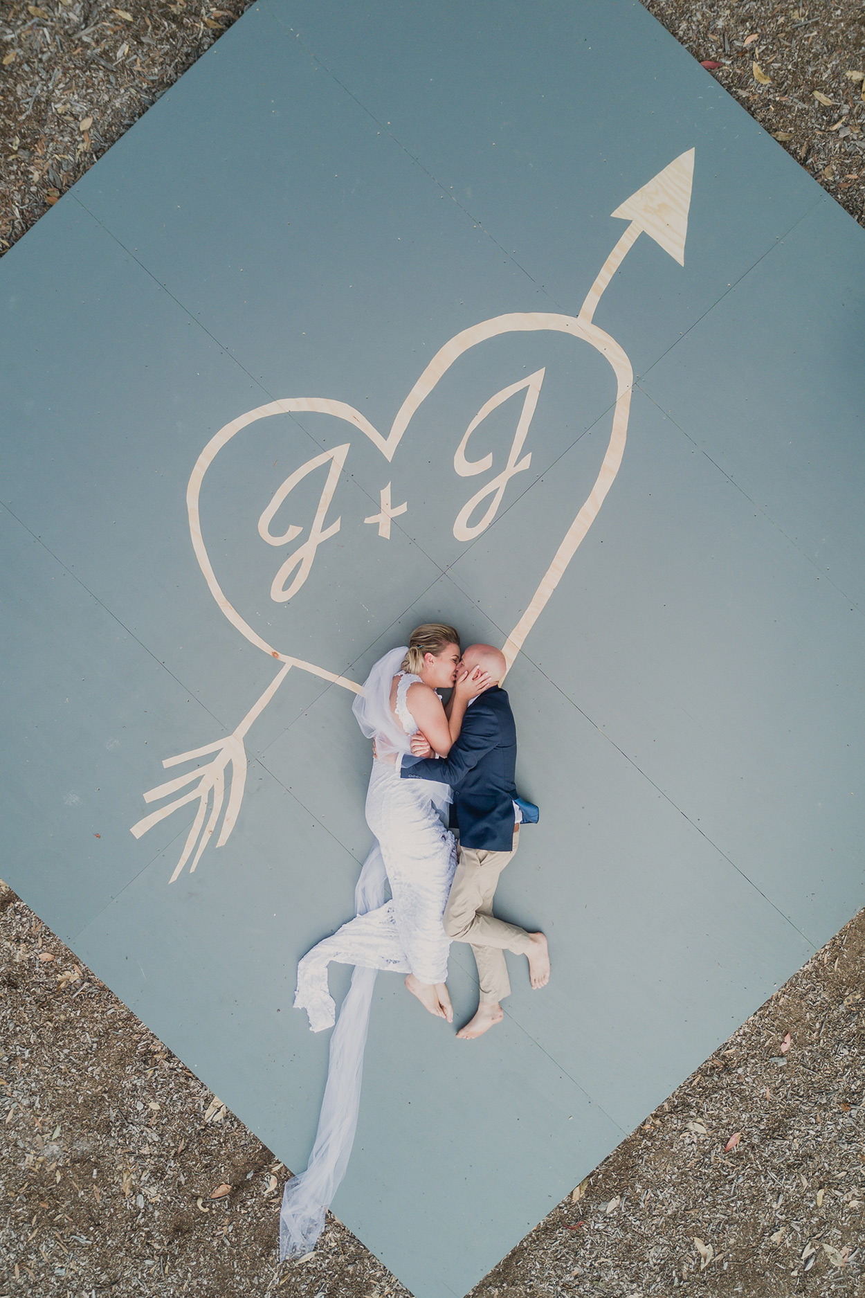 Natural Drone Aerial Destination Wedding - Sunshine Coast, Queensland, Australian Elopement Blog Photographers