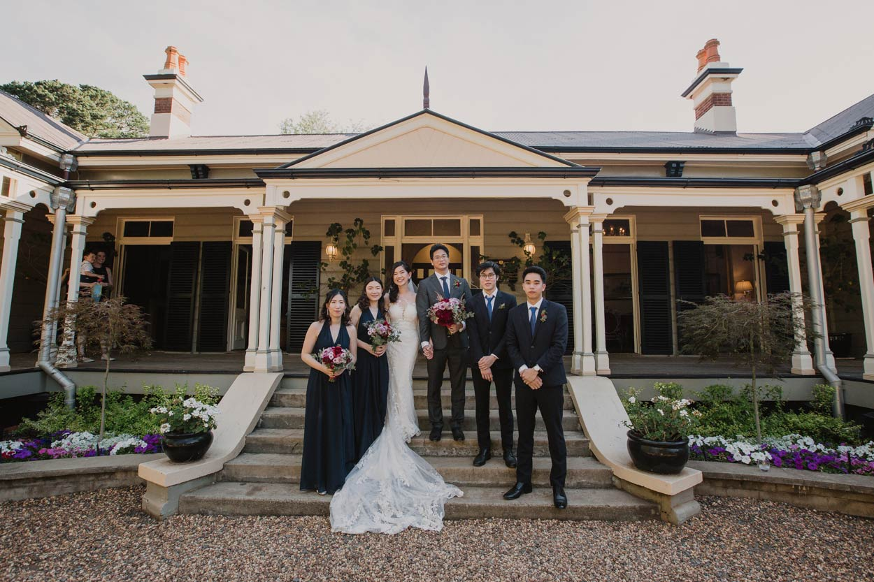 Gabbinbar Homestead Wedding Destination Photographer, Bridal Party - Sunshine Coast, Queensland, Australian