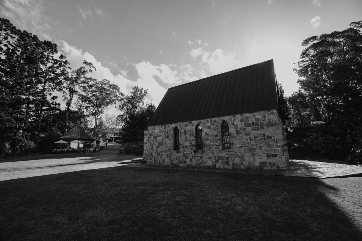 The Chapel Montville Pre Destination Wedding Photographers - Best Sunshine Coast, Queensland, Australian Photos