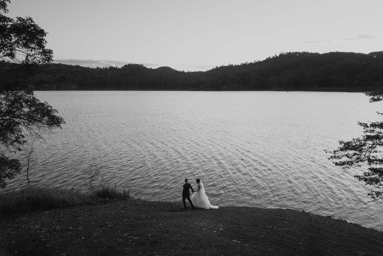 Maleny, Noosa Destination Wedding Elopement Photographer - Sunshine Coast, Queensland, Australian Drone
