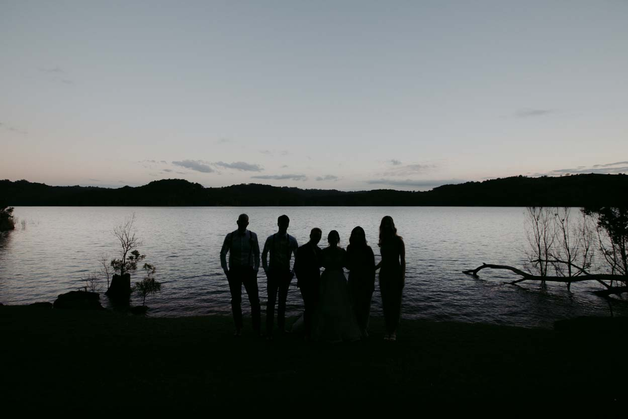 Magic Montville Destination Wedding Photographer Bridal Party Photos - Queensland, Sunshine Coast, Australian