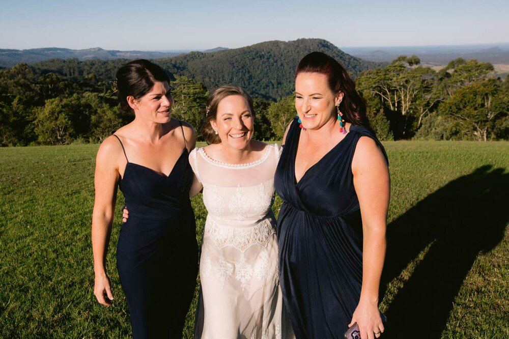 Candid Maleny Retreat Bridal Portraits, Sunshine Coast - Queensland, Australian Destination Photographer Blog