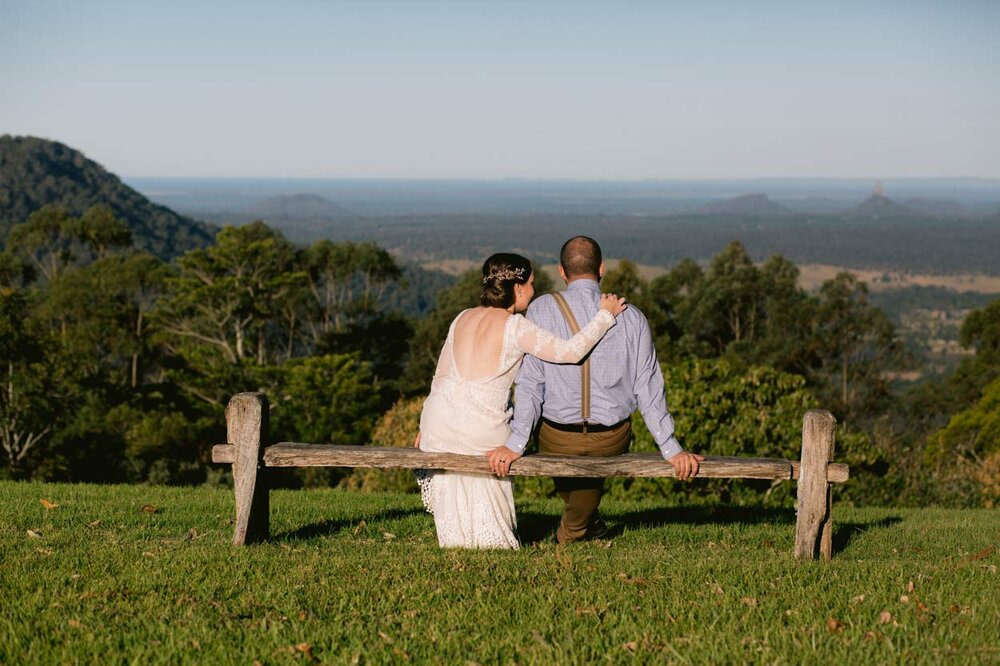 Stunning Sunshine Coast Hinterland Wedding Photographer, Maleny Retreat - Queensland, Australian Packages