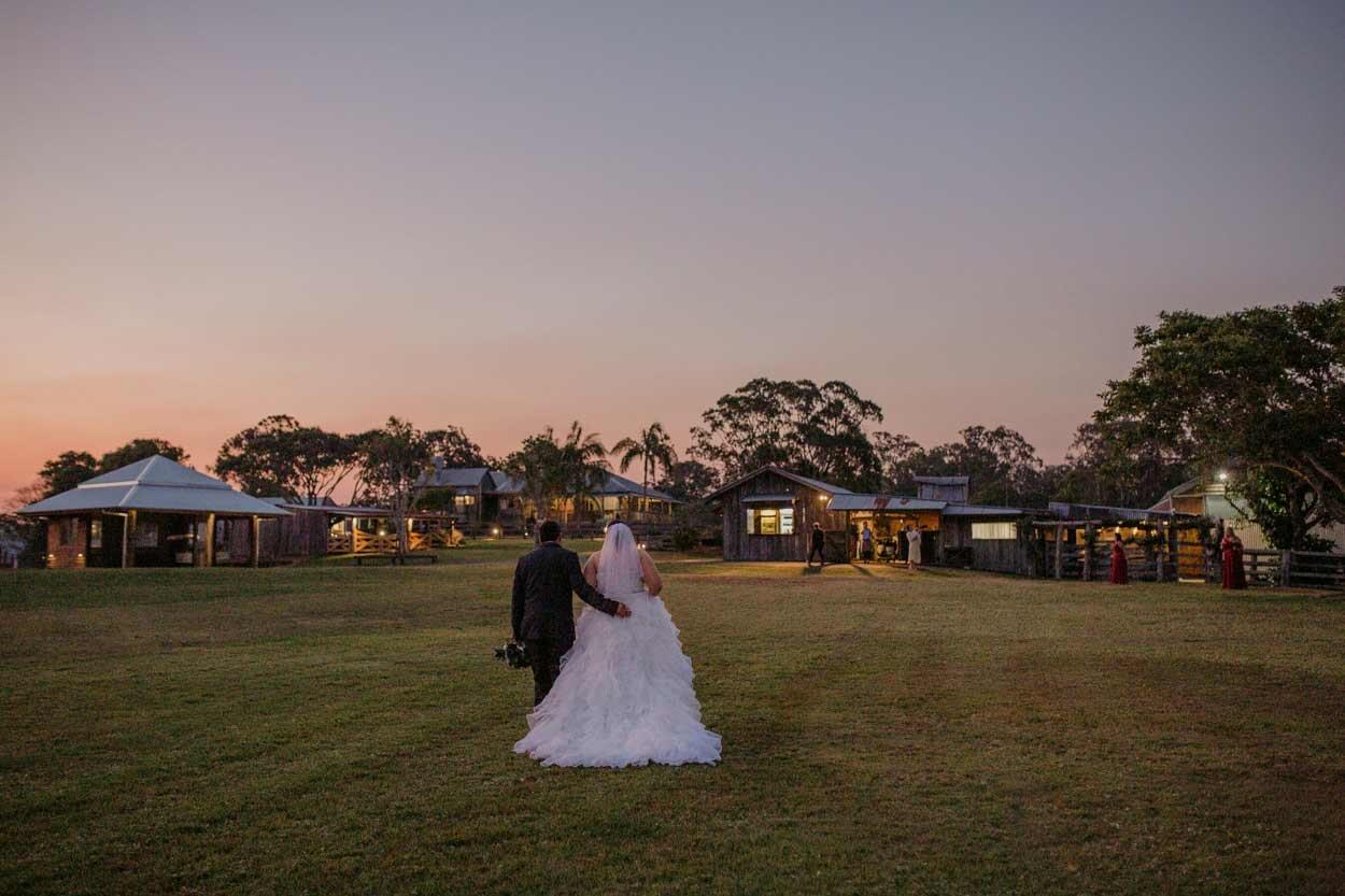 Maleny & Yandina Station Drone Wedding Photographer, Sunshine Coast - Queensland, Australian Destination Aerial Blog