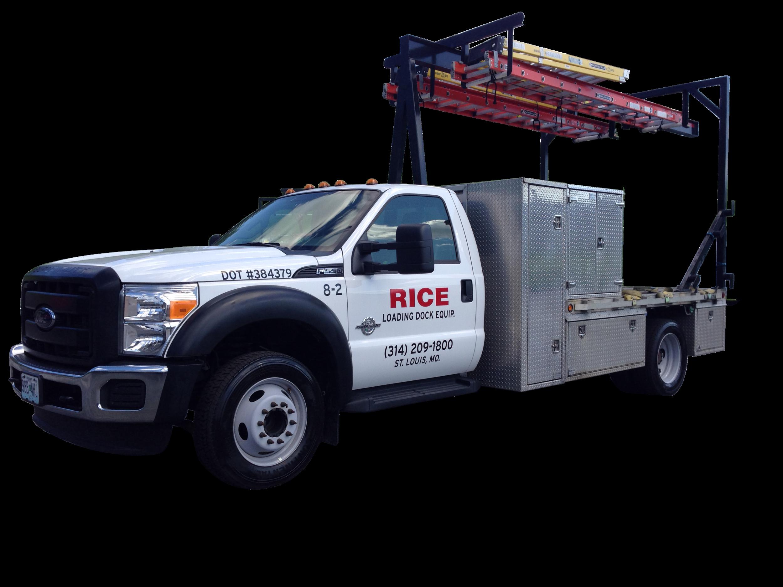 Loading Dock Repair Truck